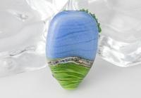 Poppy Field Tree Lampwork Bead alternative view 1