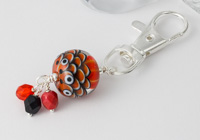 Monarch Dahlia Handbag Charm