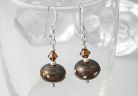 Copper Coloured Earrings
