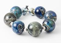 Little Planet Lampwork Beads