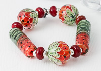 Melon Lampwork Bead Collection
