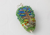 Lampwork Tree Pendant alternative view 1