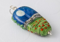 Lampwork Tree Pendant alternative view 2