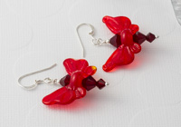 Red Butterfly Earrings alternative view 1
