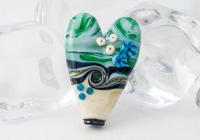 Heart Focal Bead