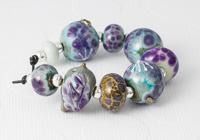 Dandelion Seed Lampwork Bead Collection