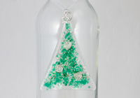 Fused Glass Christmas Tree alternative view 1