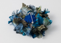 Blue Ribbon Flower Brooch alternative view 1