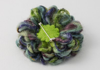 Heather Flower Brooch alternative view 1