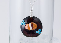 Guinea Pig Lampwork Necklace