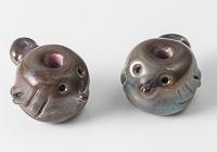 Lampwork Bird Beads
