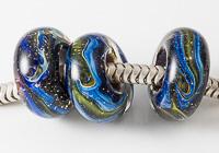 Galaxy Lampwork Charm Beads