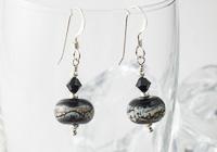 """""""Evening"""" Silver Earrings"""