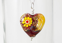 Heart On Fire Necklace alternative view 2