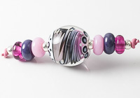 Swirly Lampwork Bead Set