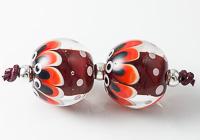 Dotty Lampwork Beads