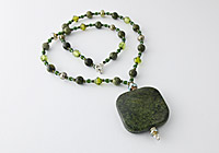 Russian Serpentine Necklace alternative view 1