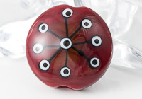 Red Focal Bead