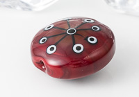 Red Focal Bead alternative view 2