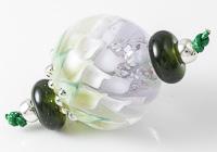 Dahlia Lampwork Bead Set