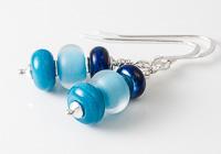 Blue Lampwork Earrings alternative view 2