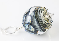 Large Swirly Lampwork Pendant