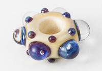 Silver Glass Lampwork Charm Bead alternative view 2
