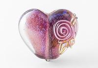 Dichroic Heart Bead