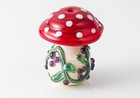 Toadstool Lampwork Bead