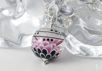 Large Dahlia Pendant Necklace