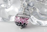 Large Dahlia Pendant Necklace