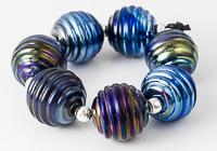 Groovy Lampwork Beads