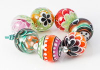 Bright Lampwork Bead Collection