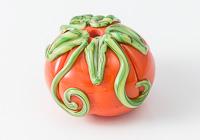 Lampwork Pumpkin Bead