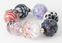 Lampwork Dahlia Bead Collection