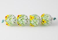 Daisy Lampwork Dahlia Beads