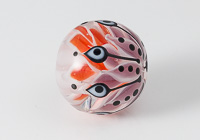 Pointed Dahlia Focal Lampwork Bead