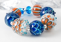 Kaleidoscope Dahlia Bead Set