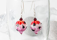 Heart Lampwork Earrings alternative view 1