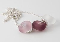 Pink Tumbled Charm Bead Necklace alternative view 1
