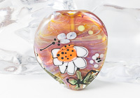 Flower Focal Lampwork Bead