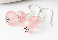 Cherry Glass Earrings alternative view 1