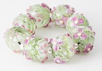 Flowery Dahlia Beads