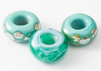 Teal Lampwork Charm Beads alternative view 2
