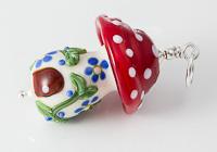 Lampwork Toadstool Pendant