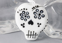 Skeleton Lampwork Bead