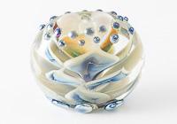 Lampwork Dahlia Focal Bead