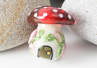 Lampwork Fairy Toadstool Bead