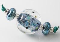 Dichroic Lampwork Bead Set
