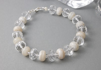 Crystal Lampwork Bracelet